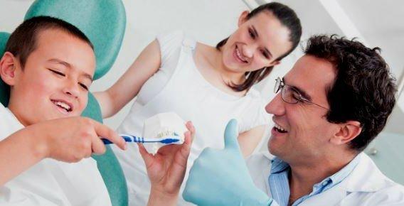 Primera visita al dentista