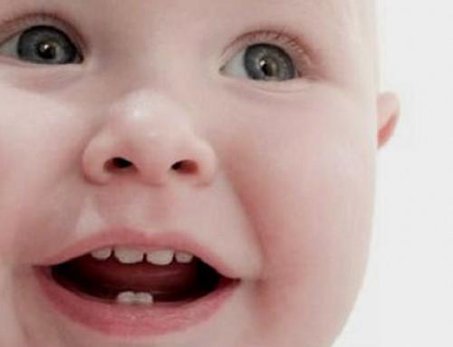 Primeros dientes de mi bebé
