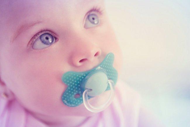 Chupetes salud bucal en bebes