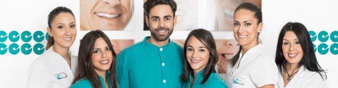 Equipo de Clínica Dental Málaga Tafur