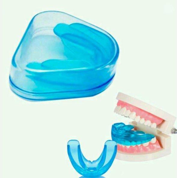 Férula dental como protector bucal